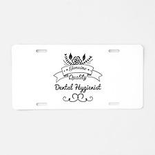 Cute Genuine Quality Dental Aluminum License Plate