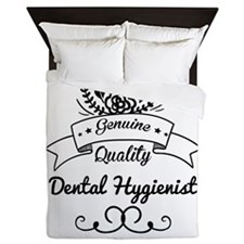 Cute Genuine Quality Dental Hygienist Queen Duvet