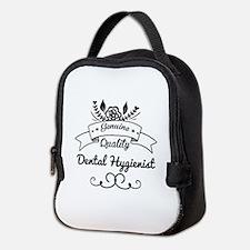 Cute Genuine Quality Dental Hyg Neoprene Lunch Bag