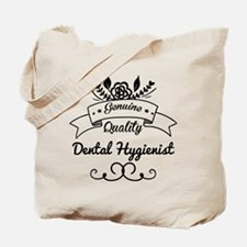 Cute Genuine Quality Dental Hygienist Tote Bag