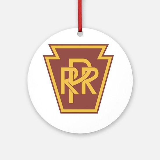 Pennsylvania Railroad Logo Round Ornament