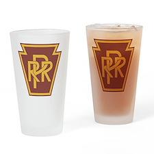 Pennsylvania Railroad Logo Drinking Glass