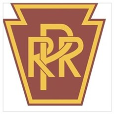 Pennsylvania Railroad Logo Canvas Art