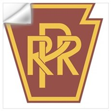 Pennsylvania Railroad Logo Wall Decal