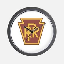 Pennsylvania Railroad Logo Wall Clock