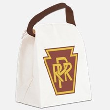 Pennsylvania Railroad Logo Canvas Lunch Bag
