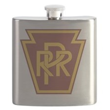 Pennsylvania Railroad Logo Flask
