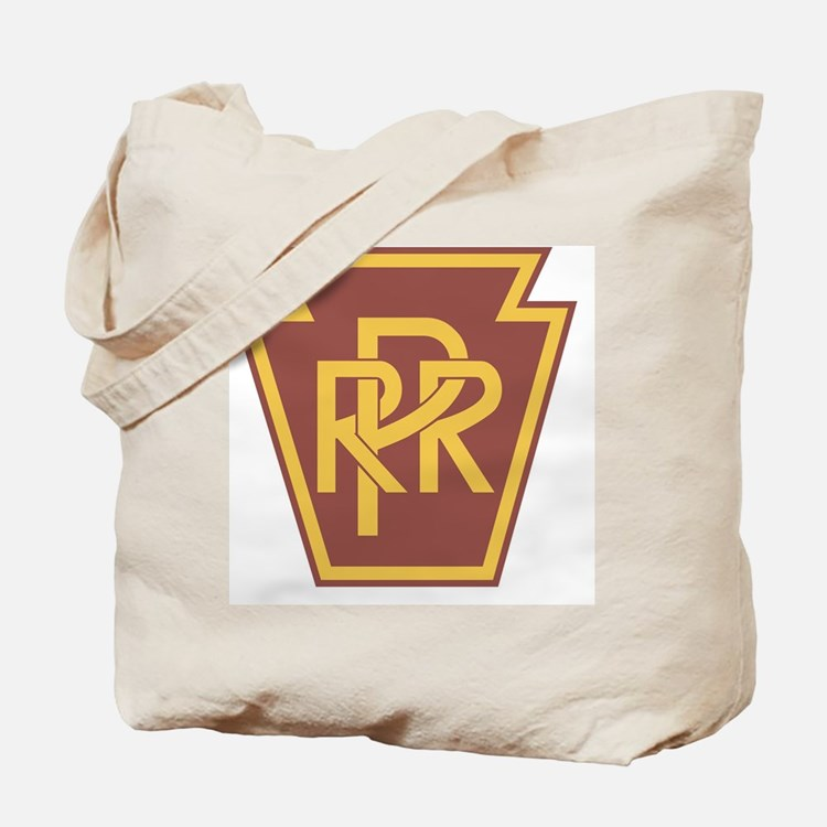 Pennsylvania Railroad Logo Tote Bag