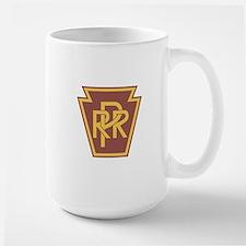 Pennsylvania Railroad Logo Large Mug