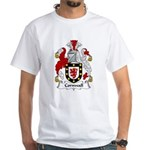 Cornwall Family Crest White T-Shirt