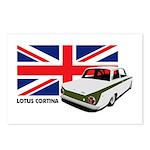 Lotus Cortina Postcards (Package of 8)