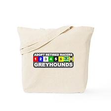 Adopt Greyhounds Tote Bag