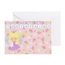 Girl Tooth Fairy Note card