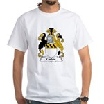 Corbin Family Crest White T-Shirt