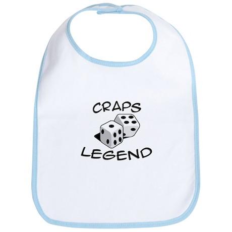 'Craps Legend' Bib