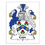 Cope Family Crest Small Poster