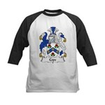 Cope Family Crest Kids Baseball Jersey