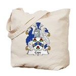 Cope Family Crest Tote Bag