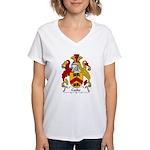 Cooke Family Crest Women's V-Neck T-Shirt