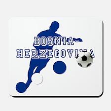 Bosnia Football Player Mousepad