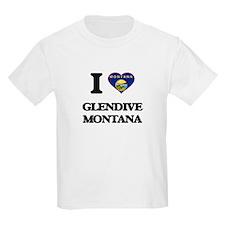 I love Glendive Montana T-Shirt