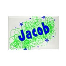 Cute Brandon jacobs Rectangle Magnet