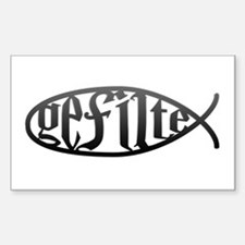 Gefilte Fish Rectangle Decal