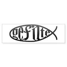 Gefilte Fish Bumper Bumper Sticker