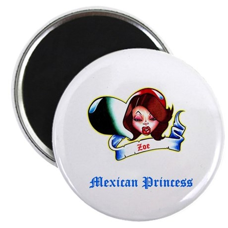 "Mexican Princess 2.25"" Magnet (10 pack)"
