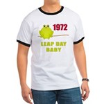 1972 Leap Year Baby Ringer T