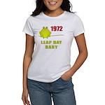 1972 Leap Year Baby Women's T-Shirt