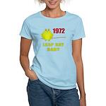 1972 Leap Year Baby Women's Light T-Shirt