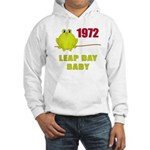 1972 Leap Year Baby Hooded Sweatshirt