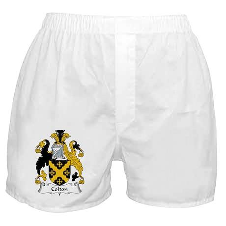 Colton Family Crest Boxer Shorts