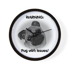 Funny Pugs Wall Clock