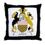 Colshil Family Crest Throw Pillow