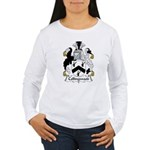 Collingwood Family Crest Women's Long Sleeve T-Shi