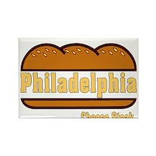 Cute Philadelphia rocky Rectangle Magnet (100 pack)