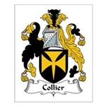 Collier Family Crest Small Poster