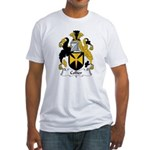 Collier Family Crest Fitted T-Shirt