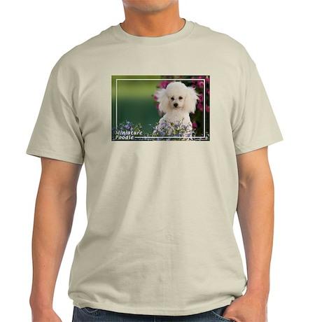 Miniature Poodle-4 Light T-Shirt