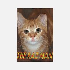 The Raz Man! Rectangle Magnet