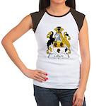 Collard Family Crest Women's Cap Sleeve T-Shirt