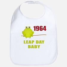 1964 Leap Year Baby Bib