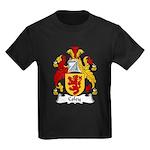 Coley Family Crest  Kids Dark T-Shirt