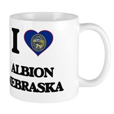 I love Albion Nebraska Small Mug