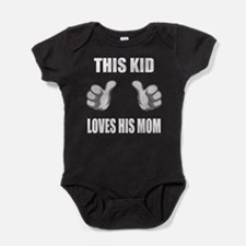 Cute Humorous mothers day Baby Bodysuit