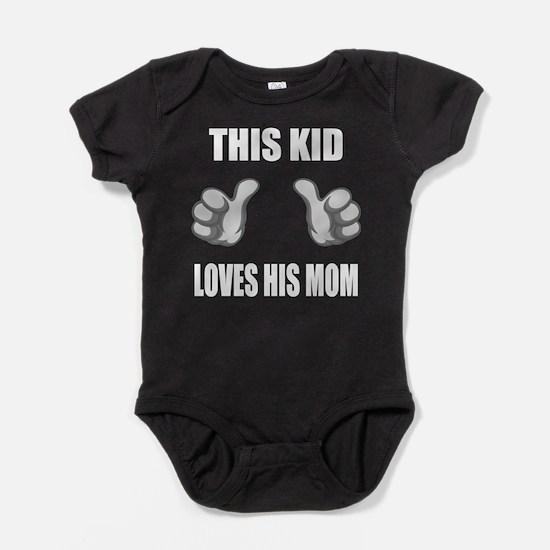 Funny Son Baby Bodysuit