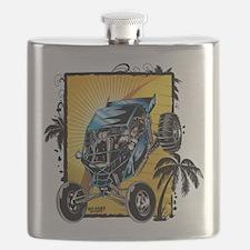 Blue Dune Buggy Flask