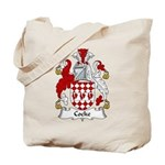 Cocke Family Crest  Tote Bag